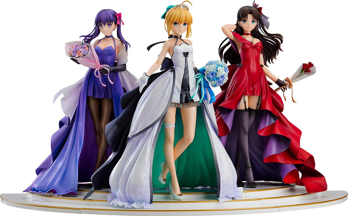 「Fate/stay night」 ~15th Celebration Project~ セイバー 遠坂凛 間桐桜 ~15th Celebration Dress Ver.~ Premium Box