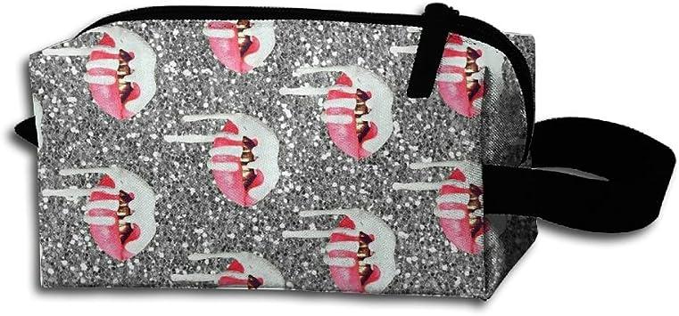 Pacomeint Tumblr - Estuche organizador de cosméticos unisex con cremallera, bolsa de viaje para maquillaje: Amazon.es: Hogar