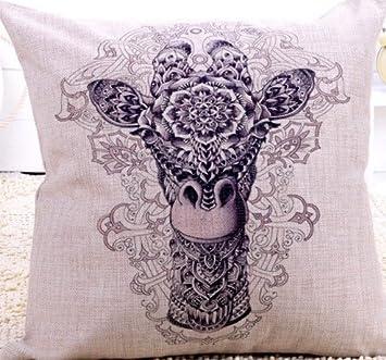 Amazon.com: Jirafa dibujo a lápiz Totem Cool Terror clásico ...