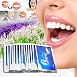 Teeth Whitening Strips Effective Professional 1 Hour Express Teeth Whitening Kit 3D Dental Whitener Elastic Gel with Mint Flavor for Teeth Deep, Surface Stains 14 Treatments for Teeth Care