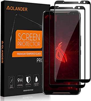 AOLANDER Compatibile with ASUS ROG Phone 2 Protector de Pantalla ...