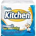 Guardanapos de papel Kitchen, Folha Simples, 50 unidades de 22,27x22,8 cm