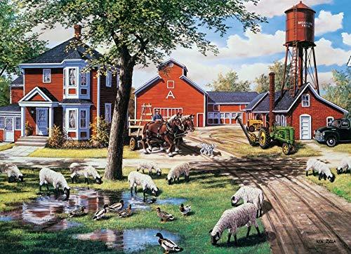 Cobble Hill Farmyard Companions Jigsaw Puzzle (1000 (Farmyard Jigsaw)