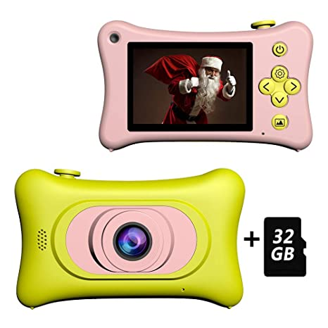 Goushy 1080P HD Cámara Fotográfica para Niños, Niña Cámara ...