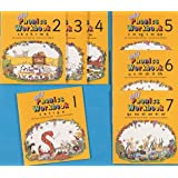 Jolly Phonics Workbooks 1-7: in Precursive Letters