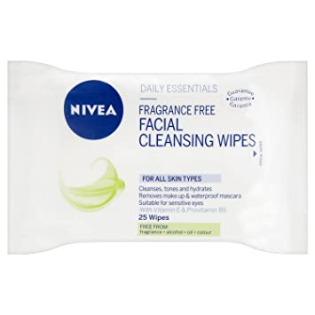 Nivea Visage Cleansing Wipes Single Pack Frangrance Free: Amazon.es: Electrónica
