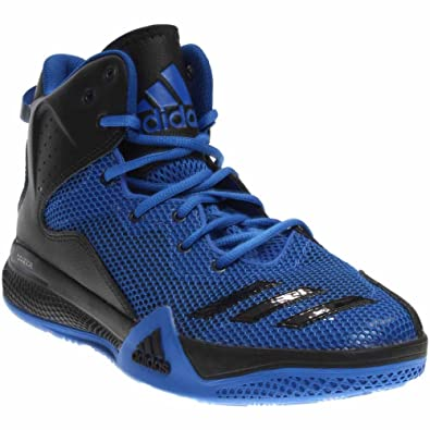 adidas shoes high tops blue. adidas men\u0027s dt bball mid blue / core black collegiate royal ankle-high fabric basketball shoes high tops d