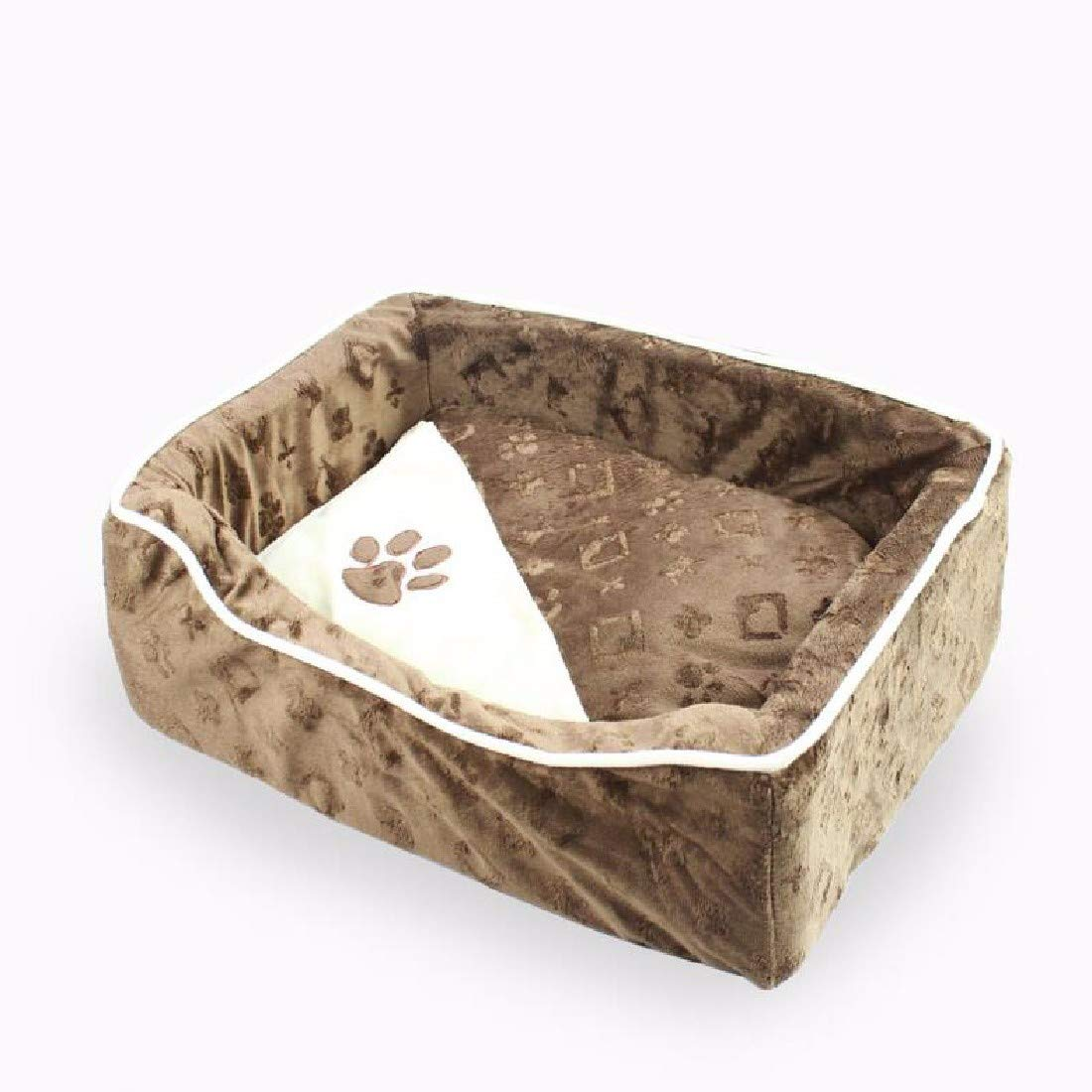 M (56x46x17.5) Pet Dog Cat House Bed Dogs and Cats can be Cleaned and Cleaned,m (56x46x175)