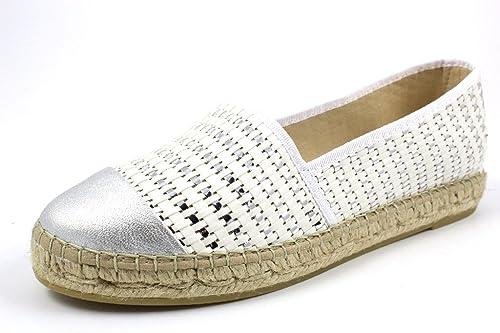b37de0344f3b0 Vidorreta Women's 00200 Blanco Espadrilles: Amazon.co.uk: Shoes & Bags