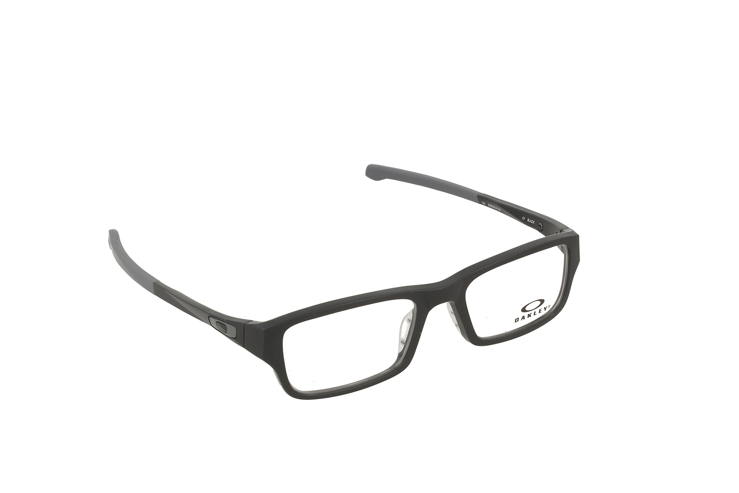 Oakley Chamfer OX8039-0149 Satin Black Rectangle Eyeglasses 49mm