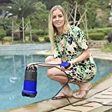 Mewalker Professional 400W 1/2 HP Submersible Sump Pump 110V 2115GPH Energy Saving Clean Water Pump for Home, Swimming Pool Pond US STOCK (blue)