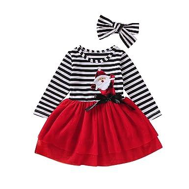 Ropa de Navidad para Bebe Niña Baby Christmas Outfit Traje de ...