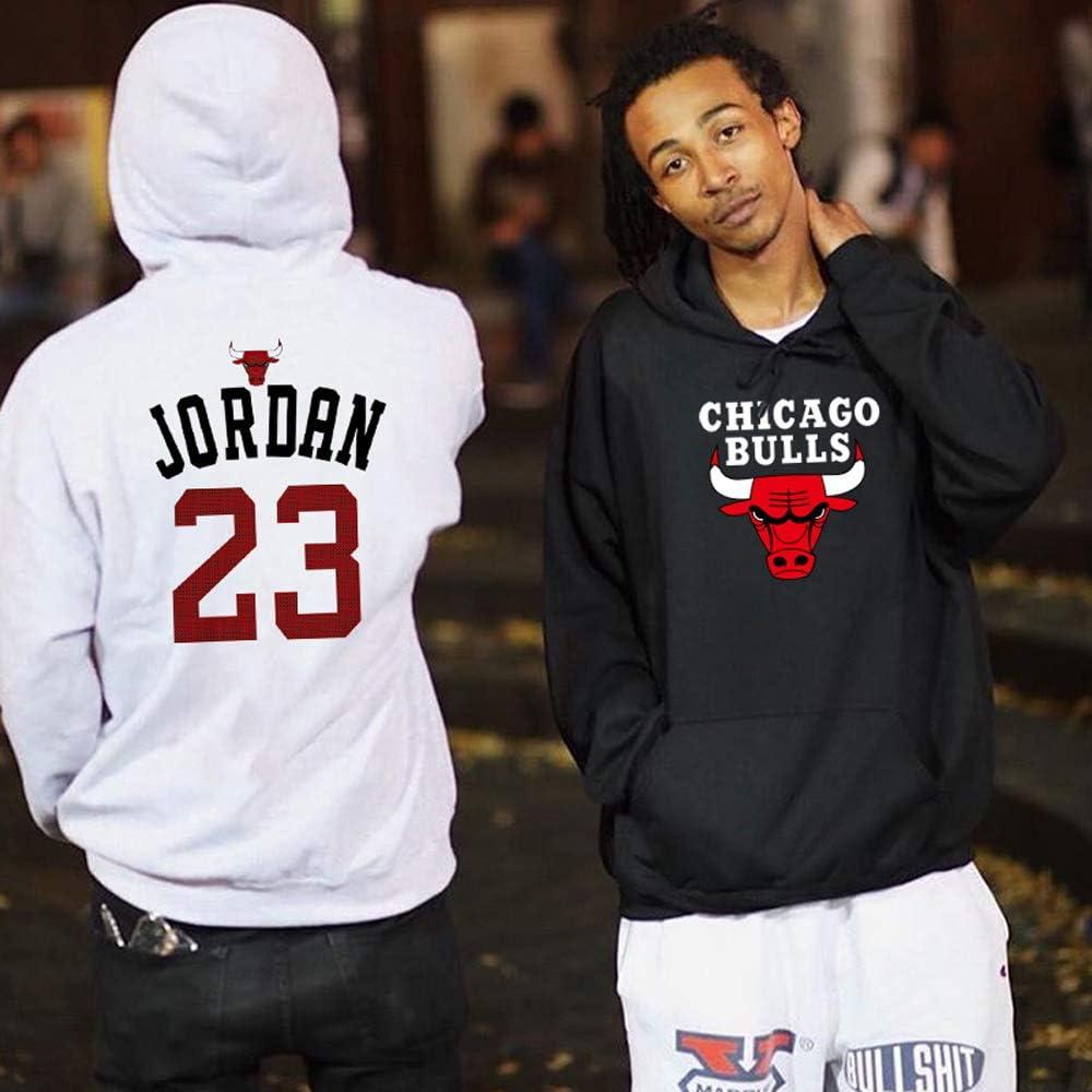 YOHH Chicago Bulls Michael Jordan Basketball Kapuzenpullover Herren Hoodies Winered