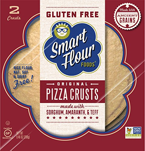 Smart Flour Foods; Ancient-Grain Pizza Crusts, 9.4 Ounce (Pack of 6) by Smart Flour (Image #1)