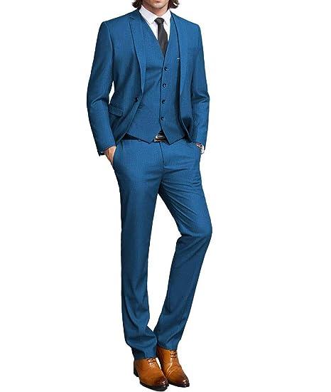 Plx Conjunto De Traje De Vestir Para Hombre 3 Piezas