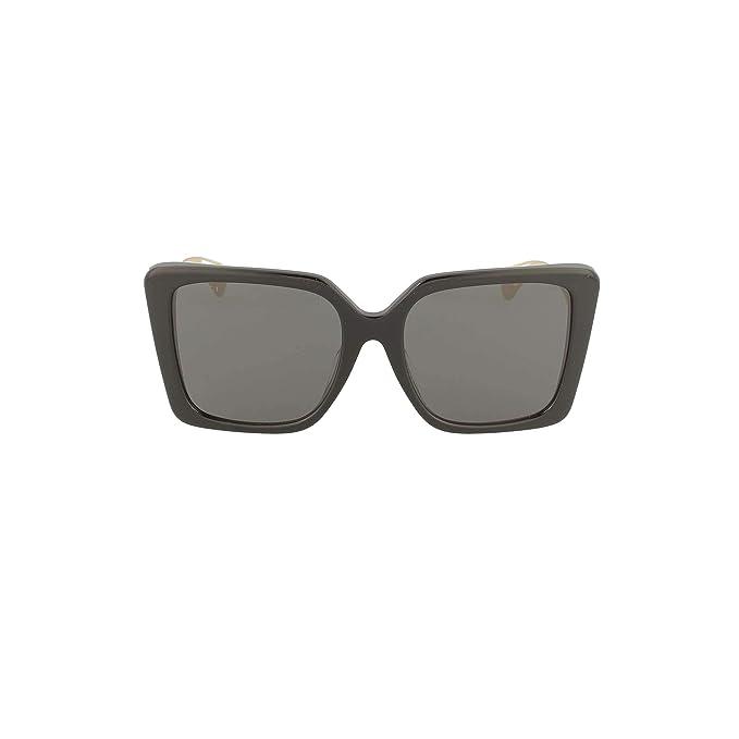 Gucci GG0435SA Gafas de sol Mujer 001-black-gold-grey ...