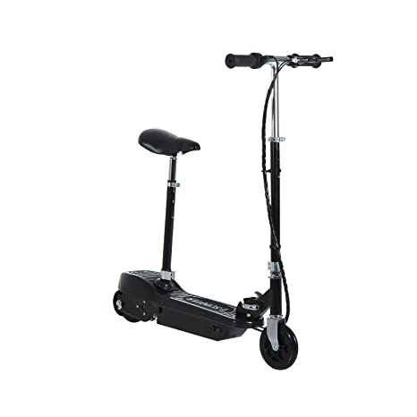 New 2018 Electric E Scooter Ride on Rechargeable Battery Removable Seat Kids Toys Ride On Cars 120W 24V Scooters Sports Toys & Outdoor Electric Ride-ons Free Protection Pads