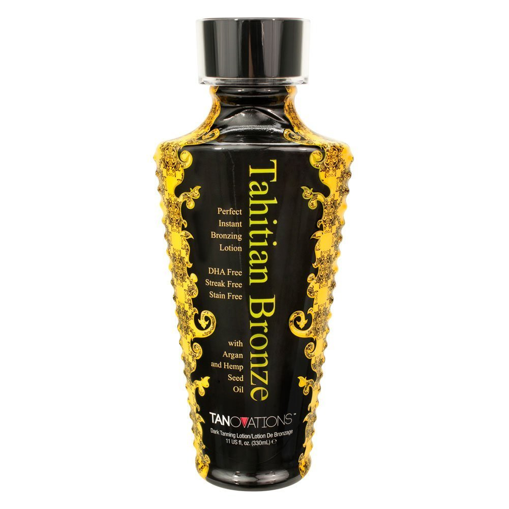 Tahitian Bronze Tanovations Ed Hardy DHA Free Tanning lotion
