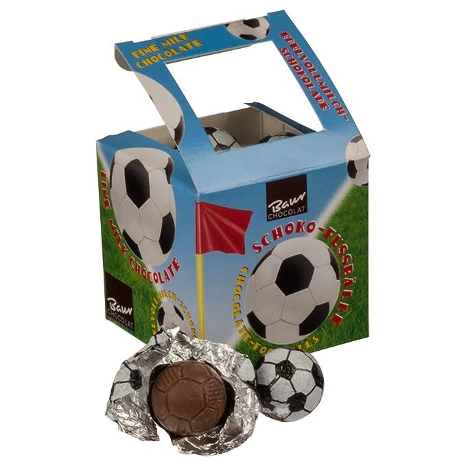 Baur Chocolate con leche fina Balones de fútbol 125 g