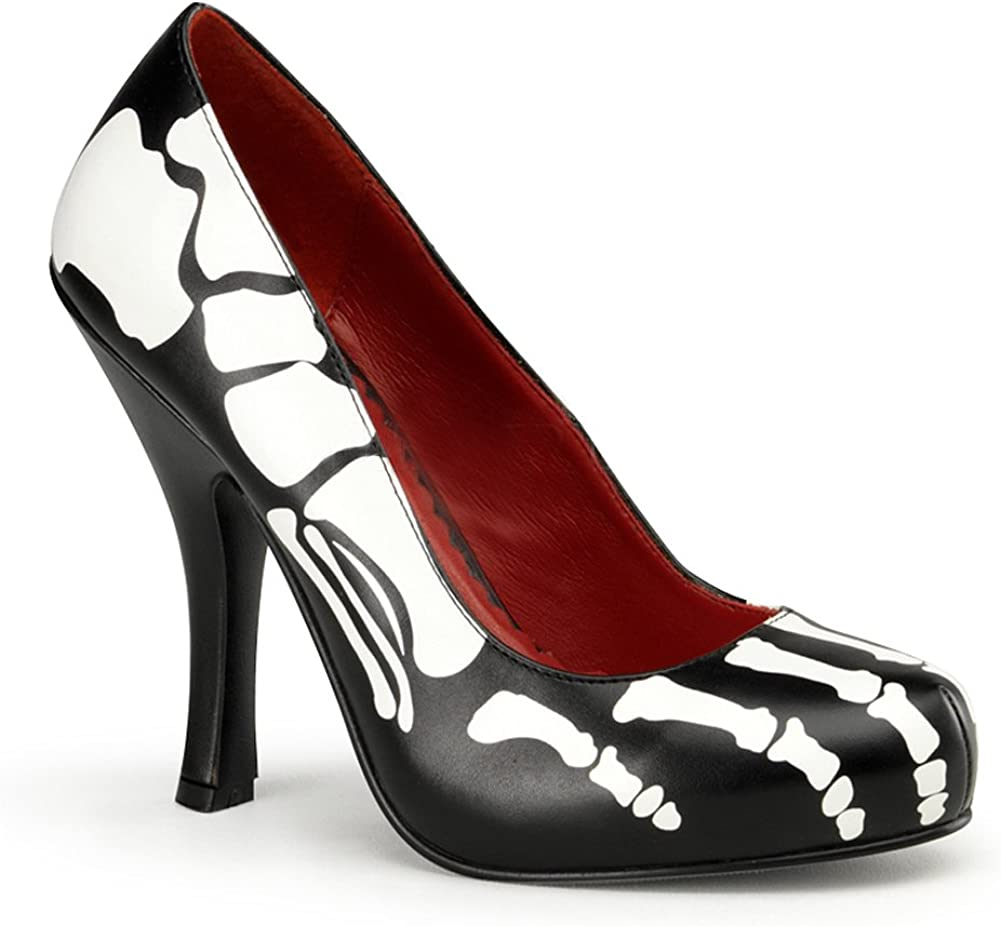 Inch High Heel Shoes Skeleton Costume