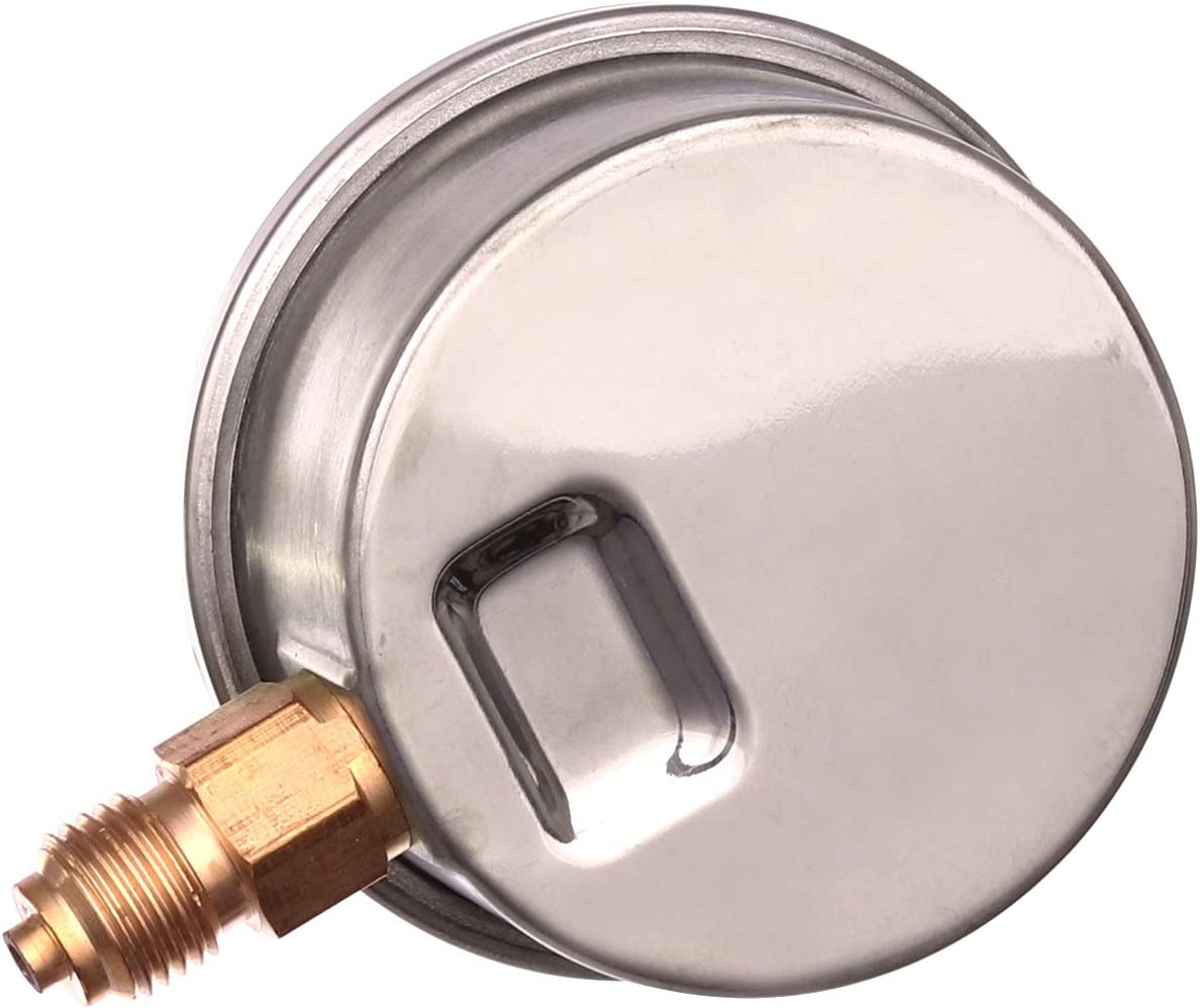 Manom/ètre Jauge avec Glyc/érine 0-1000 bars 0-15000 PSI /Ø 63mm 1//4 Radial