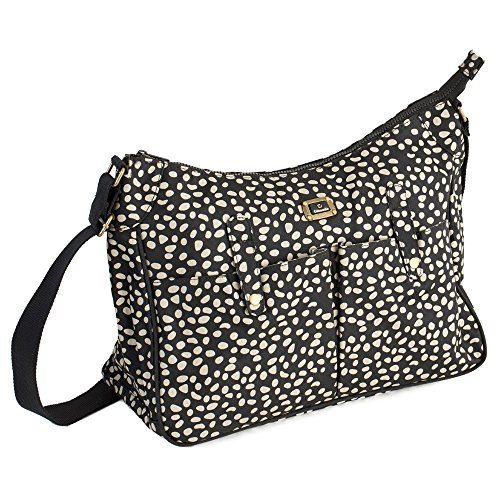 Caboodle Everyday Changing Bag (Black with Mink Spots) by Caboodle Bags