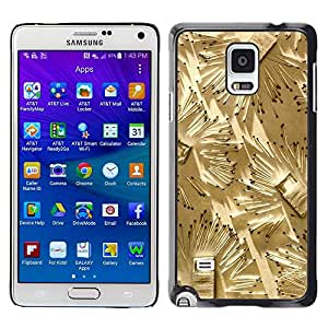 LECELL--Funda protectora / Cubierta / Piel For Samsung Galaxy Note 4 SM-N910 -- Matches Art Fire Deep Meaning Metaphor --
