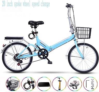 NOBRAND 20inch Spokeweel Velocidad Cambio Ultraligero Bicicleta ...