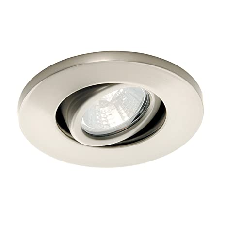 wac lighting hr 1137 bn low voltage mini recessed round adjustable