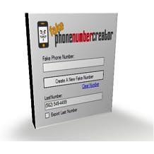 Fake Phone Number Creator [Download]