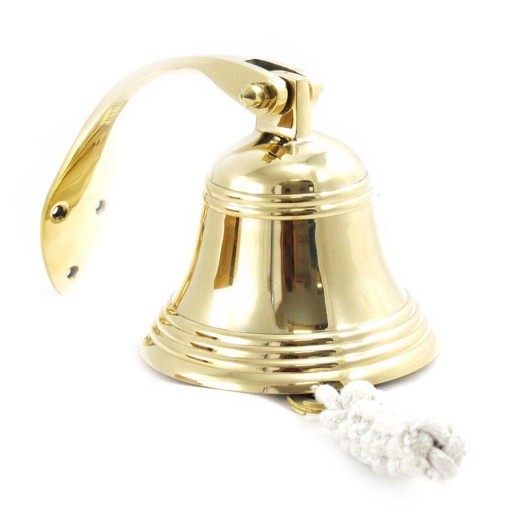 Bell quarter ''Corsaire''brass 10. 5 cm (4. 13'').