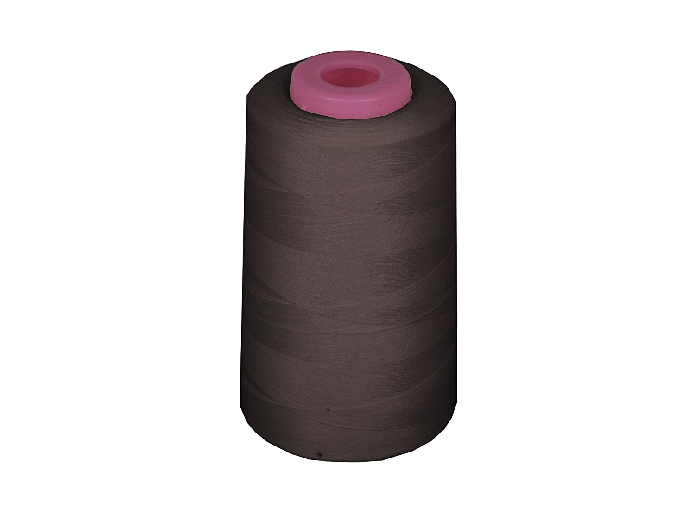 LA Linen BCACS13429 ThreadCharcoalA781 100% Polyester Cone Serger Thread, Charcoal A781