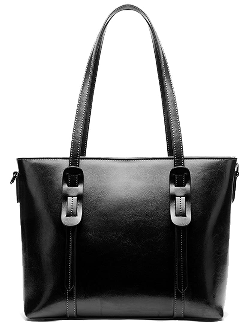 Amazon.com  Heshe Womens Leather Shoulder Handbags Top Handle Bag Cross  Body Bags Designer Purse Satchel for Office Ladies (Black)  Shoes cb73f1096a6a5