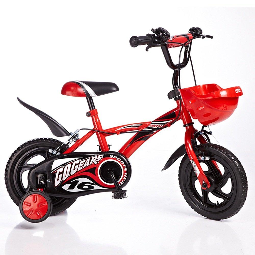 子供用自転車、12インチ2-4歳の自転車890 * 540 * 700ミリメートル ( 色 : 赤 ) B07CNV53PN赤