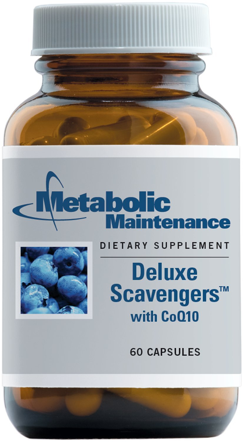Metabolic Maintenance - Deluxe Scavengers - Botanical formula with CoQ10 + Pomegranate Extract, 60 Capsules