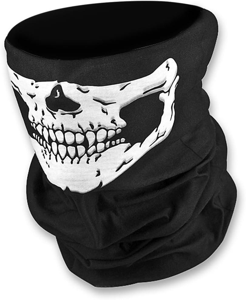 WAWO Whobabe Skeleton Skull Bandana Snowboard Esqu¨ª Motocicleta Bicicleta Rave Paintball Mask