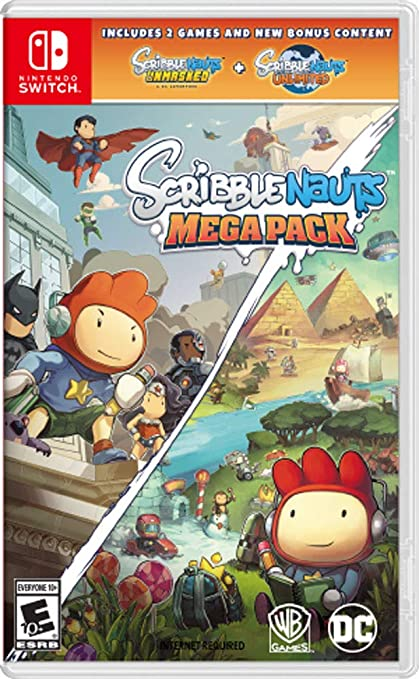 d64245439 Amazon.com  Scribblenauts Mega Pack - Nintendo Switch  Whv Games  Video  Games