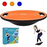 Sukudonバランスボード 体幹 トレーニング 滑り止め 持ち運びやすい 円形 直径40cm (3色)