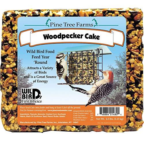 (Pine Tree Farms 1480 Woodpecker Seed Cake, 2.5 Pounds)