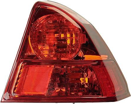 RH Fits 2003-2005 Honda Civic SEDAN Outer TAIL LIGHT lamp
