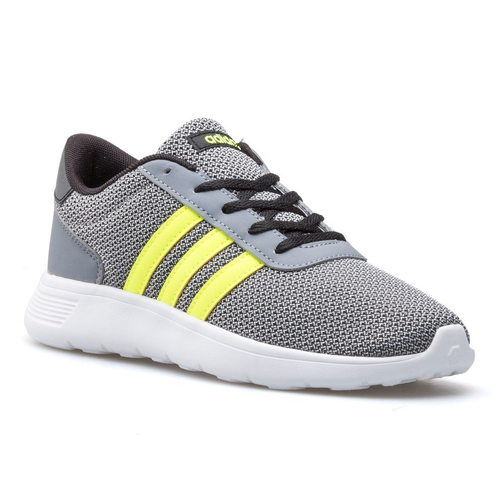 Adidas Lite Racer K - AW4056 - Color Grey - Size: 4.5
