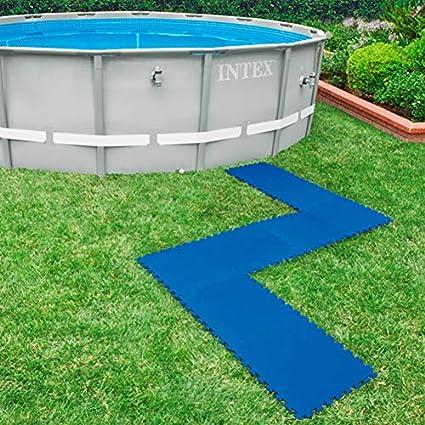 Intex 29081 Piastrella Antiscivolo 50x50x10cm 8 Pezzi Per Piscina Unica Amazon It Giardino E Giardinaggio