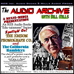 The Edison Phonograph Company and The California Ramblers Audiobook