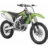 New Ray Kawasaki KX450F Die-Cast Dirt Bike for Kids (Green)