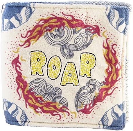 ROAR lbt1500706 Little Big Things Tissu livre en tissu dragon
