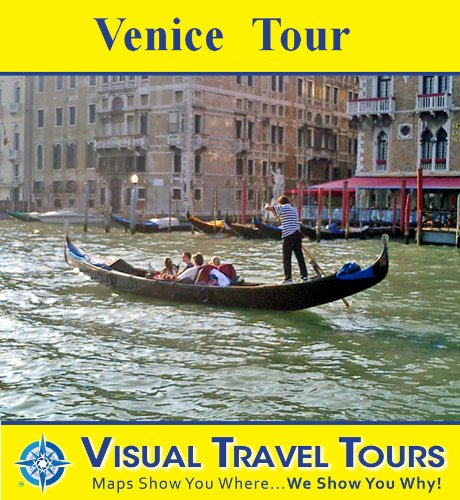 Venice Canals and Streets Tour: A Self-guided Walking Tour (Tours4Mobile, Visual Travel Tours Book - Street Hours Shopping Canal