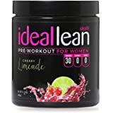IdealLean, Best Pre Workout for Women - Energy Boost, Increase Training Intensity, Mental Focus, Results, Beta-Alanine, Low C