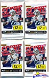 2016 Score NFL Football Lot of FOUR(4) Factory Sealed Packs with 48 Cards! Loaded with ROOKIES & Inserts! Look for Rookies & Autographs of Dak Prescott, Ezekiel Elliott, Carson Wentz & Top NFL Picks!
