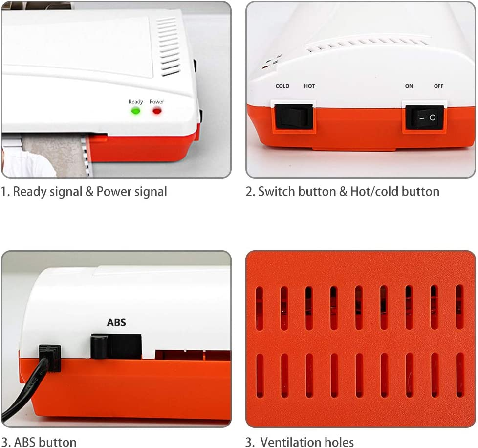 YE280 Laminator Machine for A4/A6 Thermal Laminating Machine for ...