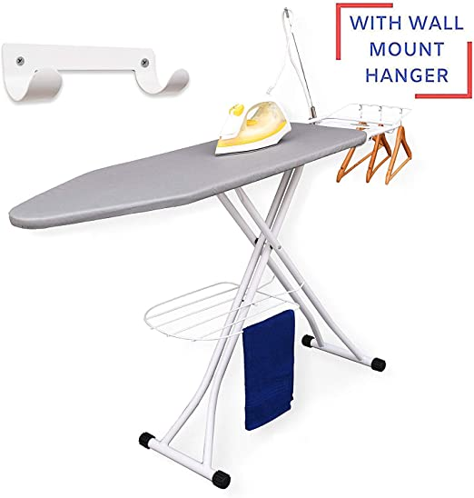 Hanging Ironing Board Door Storage Iron Wrinkles Laundry Cleaning Compact Light